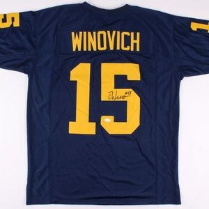 Other - Chase Winovich Signed Michigan Wolverines Jersey